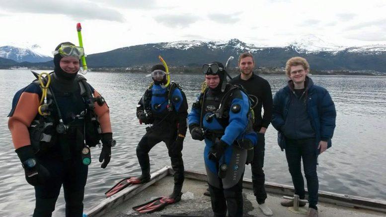 Dykkerkurs på Ålesund Dykkersenter