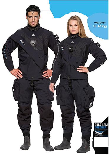 Waterproof D9X Tørrdrakt Image