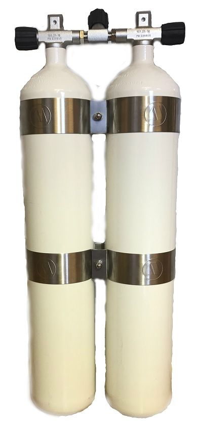 Eurocylinder Dobbelsett 2x8,5 232bar Image